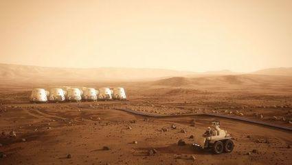 Une dynamo à glace sèche pour les colons martiens | Space matters | Scoop.it