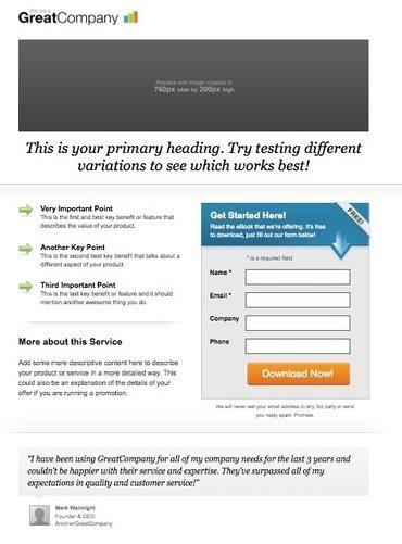 Convertissez avec vos landing pages ou pages d'atterrissage, Le Carnet d'une aventurière du Web | Actu - ergonomie et parcours  web | Scoop.it