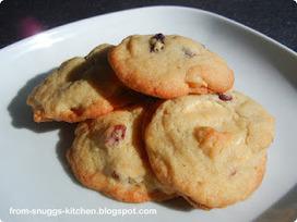Cranberry-Macadamia-Weiße Schokolade-Cookies | Brownies, Muffins, Cheesecake & andere Leckereien | Scoop.it