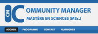 Faire un Mastère en Sciences  « Community Management » ? Vous en avez rêvé? | Community management | Scoop.it