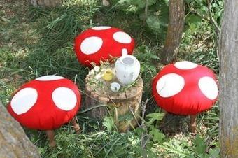 Baby the Kid!: DIY : un tabouret champignon! | DIY DIY | Scoop.it