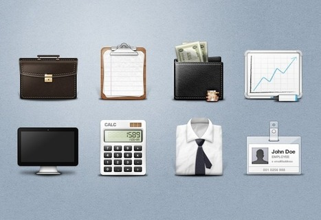 Download free excecutive business icons   The Official Photoshop Roadmap Journal   Scoop.it