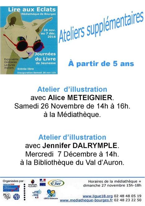 Du 26 novembre au 7 décembre à la Médiathèque de Bourges : Journées du livre de Jeunesse-Expo-vente de livres 2016 | agenda culturel | Scoop.it
