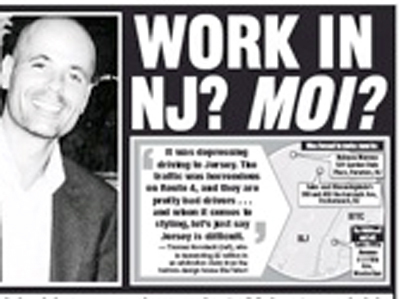 """A New Yorker Is Suing His Boss For $2 Million Because Working In New Jersey Caused Him """"Anguish"""" 