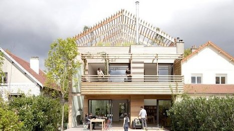[inspiration] Une pergola à Anthony : maison en bois préfabriquée et éco-durable | IMMOBILIER 2015 | Scoop.it