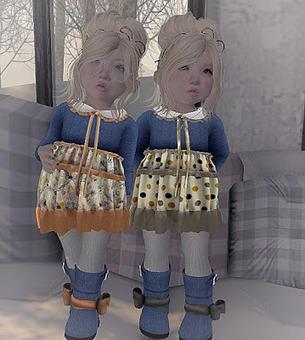 Watching the Winter Storm   亗 Second Life Kids Lookbook 亗   Scoop.it
