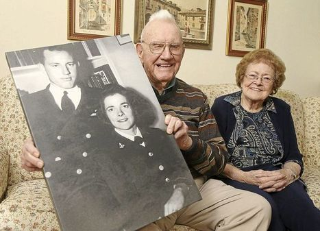 World War II veteran couple celebrates 70 years of marriage | Southmoore AP United States History | Scoop.it
