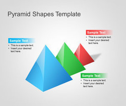 FREE Pyramid PowerPoint Shapes Template | Pyramids, shapes, templates | Scoop.it