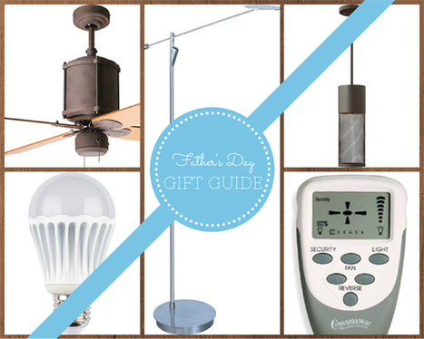 Del Mar Fans & Lighting's Father's Day Gift Guide | Ceiling Fans | Scoop.it