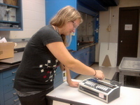 Experimenting in the lab - Woodbury Bulletin | Technology in Special Education | Scoop.it