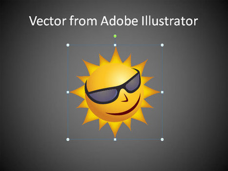 Cómo usar Vectores de Adobe Illustrator en PowerPoint 2010 | Plantillas Power Point | Diseño Gráfico | Scoop.it