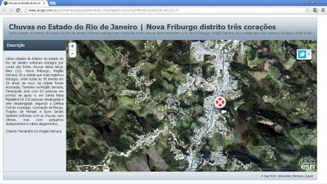Chuvas no Estado do Rio de Janeiro | Nova Friburgo distrito três corações | ArcGIS Geography | Scoop.it