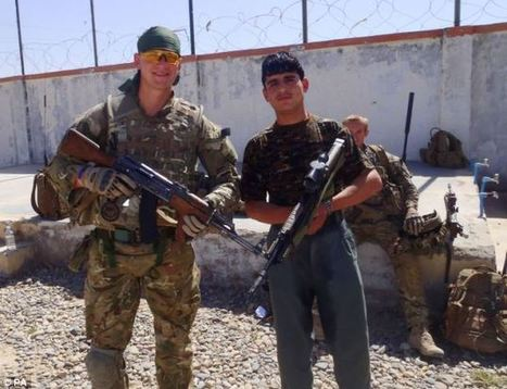 RAF policeman grins alongside Afghan policeman who opened fire on him | UK Policing Updates | Scoop.it