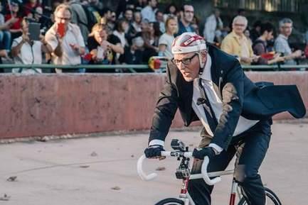 Jan Fabre breekt Merckx' werelduurrecord niet   Le Mac LYON dans la presse   Scoop.it