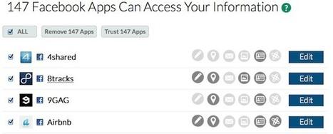 Réseaux Sociaux - Faites le ménages dans vos applications tierces - Korben   Geek or not ?   Scoop.it