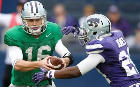 Kansas State shows confidence in starting quarterback Jesse Ertz | All Things Wildcats | Scoop.it