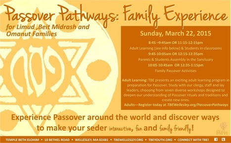 Celebrate Passover with TBE | Jewish Education Around the World | Scoop.it