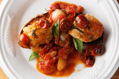 Rana Pescatrice all'acqua pazza - Monkfish in crazy water   Le Marche and Food   Scoop.it