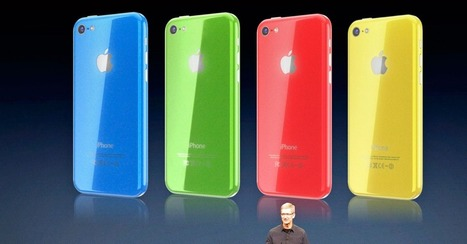 Apple's iPhone 5C Was Never Meant to Be Entry-Level, Says Cook | HSC Marketing | Scoop.it