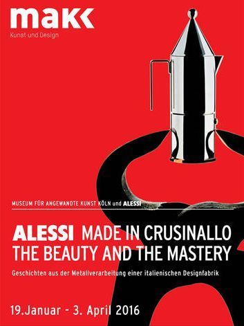 MAKK Köln | Alessi Made in Crusinallo. The Beauty and the Mastery | design exhibitions | Scoop.it