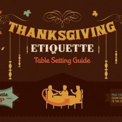 Thanksgiving Etiquette | Visual.ly | Infographics on the road | Scoop.it