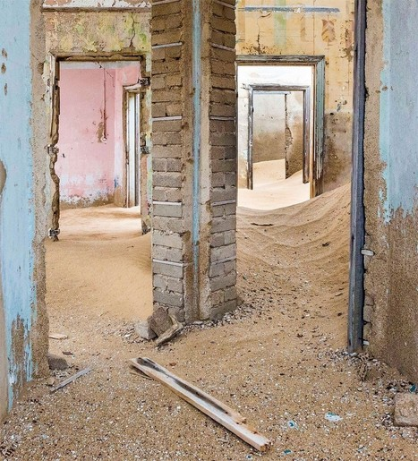 Where The Ghosts Walk: Photographer Captures Abandoned Town In The Desert Of Namibia | Exploration Urbaine | Scoop.it
