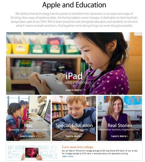 Apple and Education | Education | Scoop.it