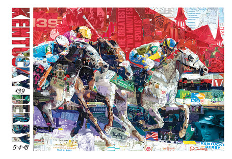Kentucky Derby 139 Official Art Poster at the Kentucky Derby Store | Horse Racing News | Scoop.it