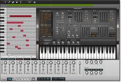 créer de la musique électronique en ligne | Créer des rythmes et des mélodies en toute liberté sur le Web | Scoop.it