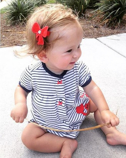 20 Super Sweet Baby Girl Hairstyles   hairsalonforkids   Scoop.it