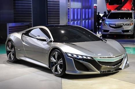 Acura NSX Concept portends an efficient hybrid supercar   The DATZ Blast   Scoop.it