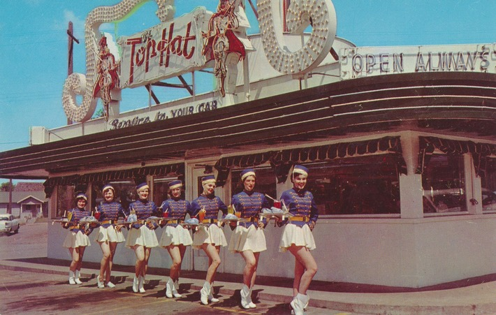 Vintage Postcard from The Top Hat in Spokane | Visiting The Past | Scoop.it