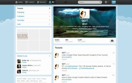 Activate New Twitter Profile: Get Correct Header Photo Size | All you need to know Twitter | Scoop.it