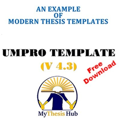 An Introduction to Modern Thesis Templates | MyThesis Hub | Scoop.it