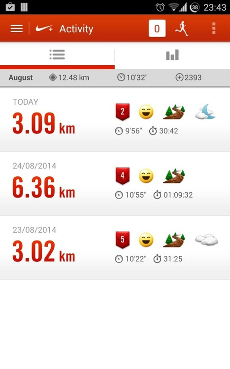Nike+ Running - A great application to track your run | Android And Freak | Android And Freak | Scoop.it