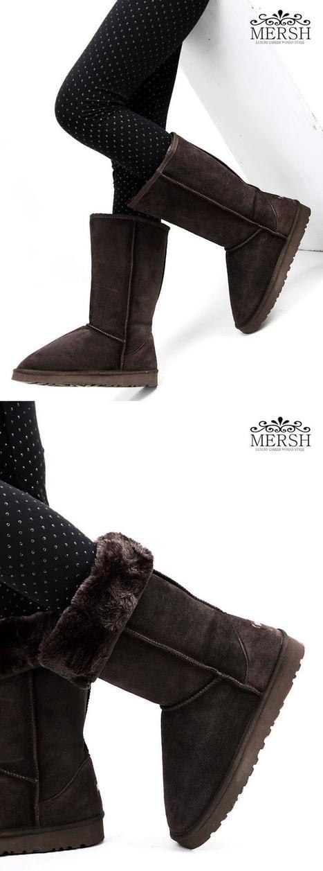 Winter Snow Boots FashionKvoll Uggs Style Knee Boot Winter Boots,Snow boots [P02571 R0188]- US$29.20 - wholesale85.com | Wholesale Women Shoes | Scoop.it
