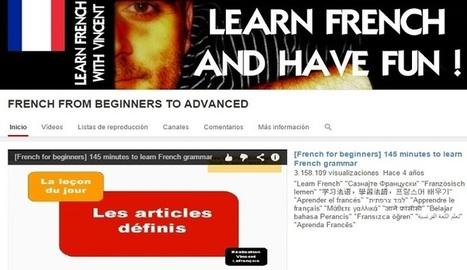 Curso gratis en video para aprender Francés de principiante a experto  - Nerdilandia | Cursos y Recursos Gratuitos | Scoop.it