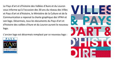 Changement de logo pour le Pays d'Art et d'Histoire   Vallée d'Aure - Pyrénées   Scoop.it