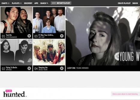 We Are Hunted Talks Spotify, Branded Apps, and The Future | Music business | Scoop.it