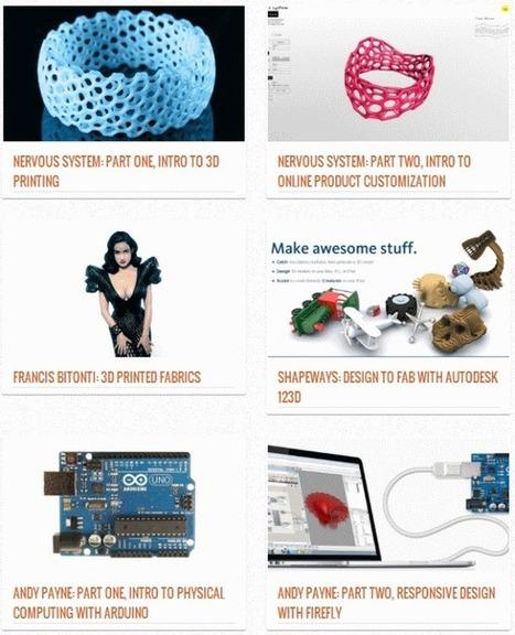 3ders.org - Exploring digital fabrication at DesignX @ ICFF 2013 New York | 3D Printer & 3D Printing News | Design & Digital Fabrication & Makers | Scoop.it