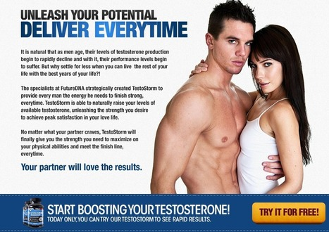 Interested in Testostorm? – You Must Read This First Before BUY!!! | This supplement gives you strong physic | Scoop.it