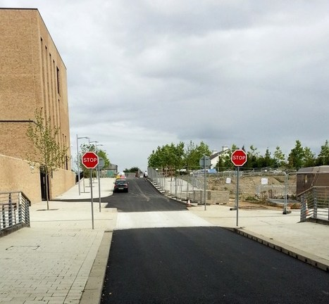 Pretty or practical: the cycle route through the West Cambridge site ... | Real World Cycling | Scoop.it