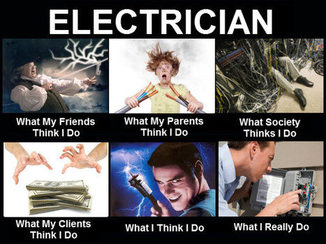 Electrician | What I really do | Scoop.it