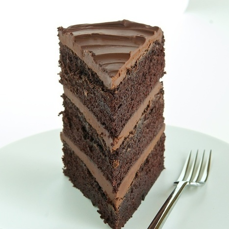 #Recipe - 3 Layer Guinness - Chocolate Cake | RECIPES WITH CHOCOLATE | Scoop.it