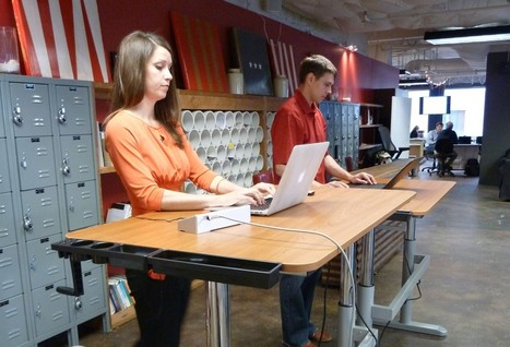 Standing desks boost productivity, not just health, study finds | Indoor Rowing | Scoop.it