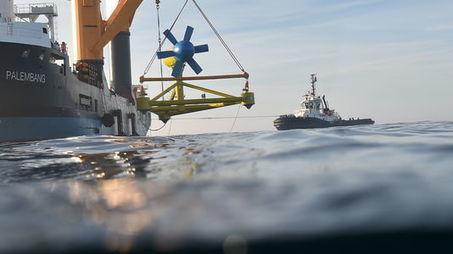 Eoliennes, hydroliennes... : où en sont les énergies marines en France ? - le Monde   ON-ZeGreen   Scoop.it