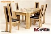 Bộ bàn ăn gỗ - Mẫu bàn ăn đẹp | Đồ gỗ nội thất Hà Tây | Scoop.it