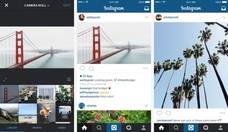 Instagram supporte enfin les photos au format portrait ou paysage - Blog du Modérateur | Clic France | Scoop.it