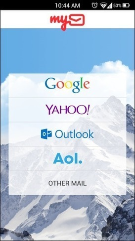 myMail Is A Beautiful Replacement For Stock Android Email App | Best Android Apps | Scoop.it