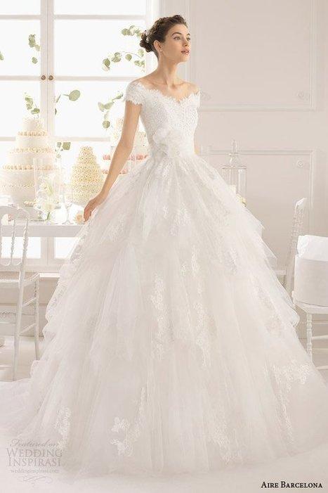 Aire Barcelona Wedding Dresses 2015 | Daily Wedding Ideas | a la mode | Scoop.it